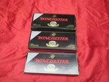 3 Boxes 60 Rds Factory Winchester Ballistic Tip 243 WSSM Ammo
