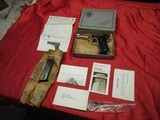Smith & Wesson Mod 59 9MM Nickel with Box