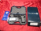 Beretta 92G Centurion Tactical 9MM Para with Box and Case