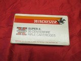1 Box 20 Rds Winchester Super-X 458 Factory Ammo