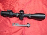 Bushnell 4.5-18X40MM AR Optics Scope with leupold rings and mount - 1 of 11
