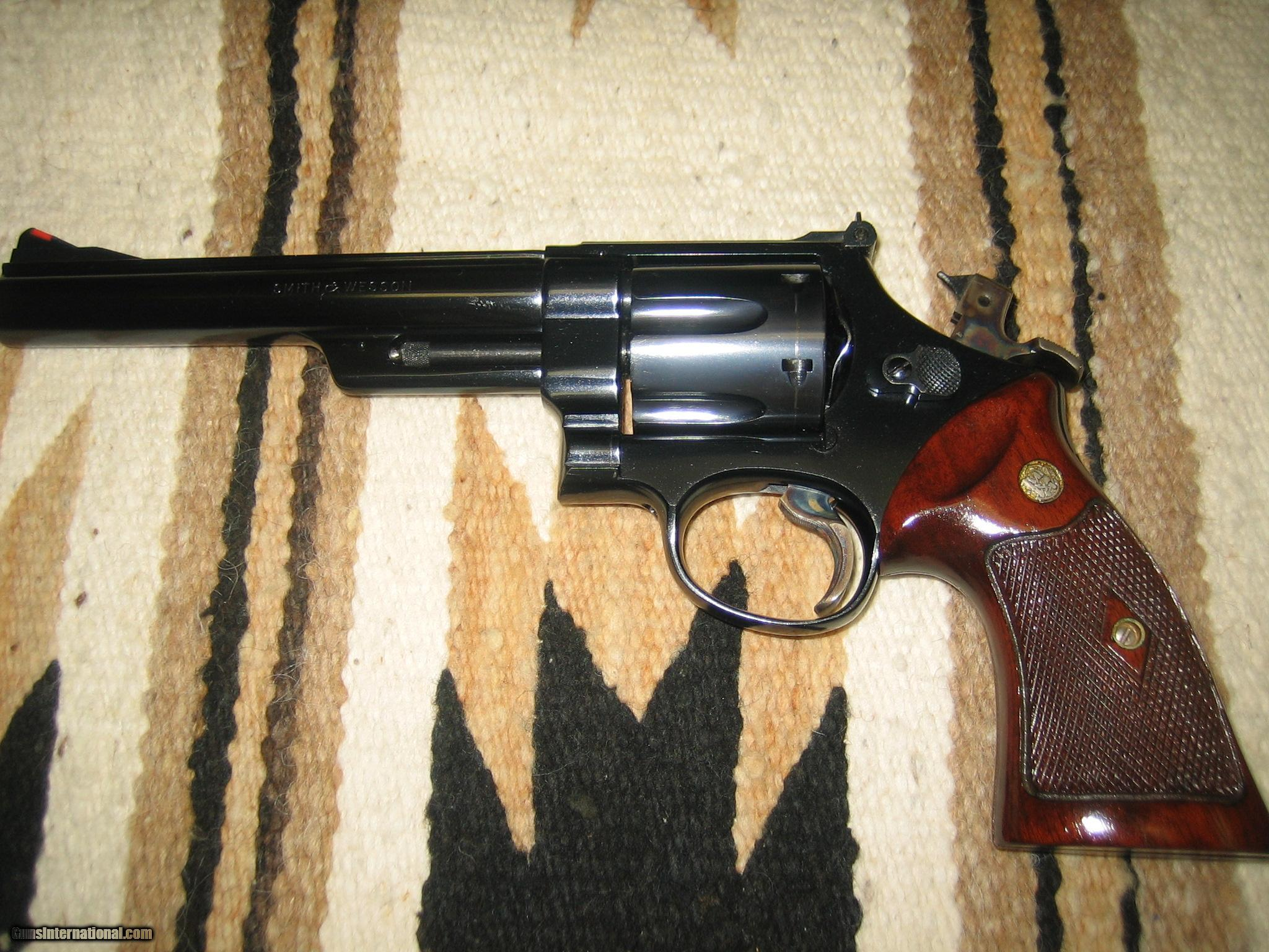 Smith And Wesson Pre Model 29 44 Mag 5 Screw Mfg 1956