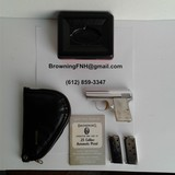 "Browning Baby .25 Caliber Automatic Pistol - ""The Lightweight"" Model"