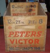 Peters Victor Antique Wood Shell Bpx