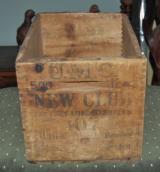 UMC New Club Wooden Shell Box