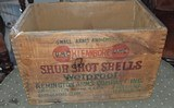 Remington UMC Wooden Shotshell Box