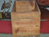 Remington UMC Wooden Shotshell Box