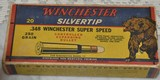 Winchester 348 Grizzly Bear Box