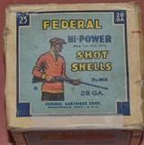 Federal 28ga. Full Box - 1 of 6