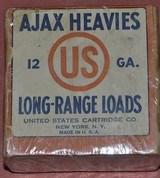 Ajax Heavies 12ga.Unopened 2 Piece Box