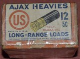 Ajax Heavies 12ga.Unopened 2 Piece Box - 3 of 6