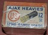 Ajax Heavies 12ga.Unopened 2 Piece Box - 2 of 6