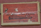 Winchester 30 Army full Patch Unopened Box