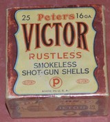 Peters Victor 16ga 2Pc Box unopened
