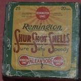 Remington UMC 20ga. Full 2Pc. Box