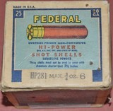 Full Box of Federal 28ga.Paper Shotshells - 2 of 6