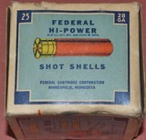 Full Box of Federal 28ga.Paper Shotshells - 5 of 6
