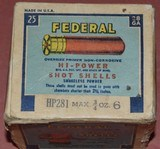 Full Box of Federal 28ga.Paper Shotshells - 4 of 6