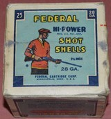 Full Box of Federal 28ga.Paper Shotshells - 6 of 6