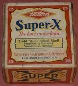 Full 2 Piece Box Western Super-X 12Ga.