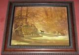 Original Oil on Board by Joseph Sulkowski