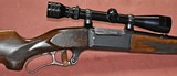 Savage Model 99F With Redfield Scope - 2 of 12