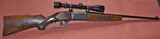 Savage Model 99F With Redfield Scope - 1 of 12