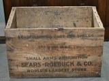 Sears Wooden 12Ga Shell Box