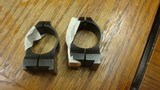 WARNE RINGS FOR A SAKO RIFLE 1 SET FRONT AND REAR - 1 of 3
