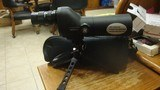 BUSHNELL 20 X 50 SPOTTING SCOPE WITH CASE AND TRI-POD 50MM FRONT FRONT LENS