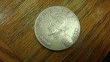 PANAMA SILVER DOLLAR 1934 90 % SILVER - 1 of 4