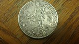 PANAMA SILVER DOLLAR 1934 90 % SILVER - 2 of 4