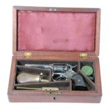 REMINGTON RIDER PERCUSSION POCKET REVOLVER (CASED)