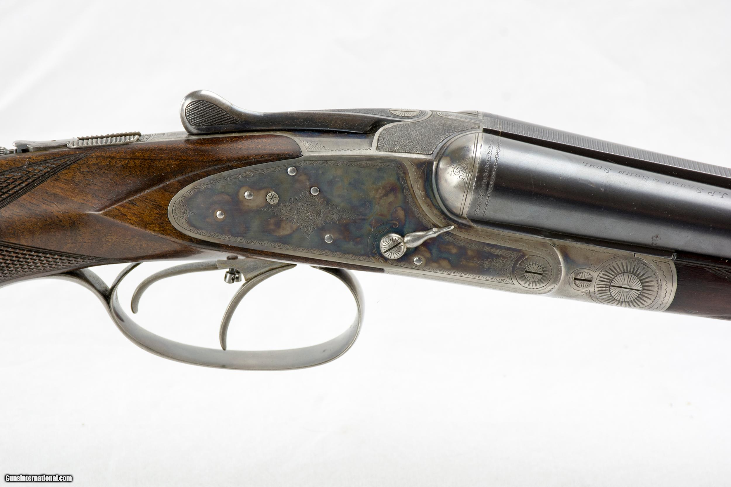 Sauer Double Rifle in 11mm Mauser