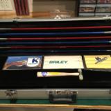 Krieghoff Nickel Super Scroll K80 Skeet with Briley Tube Set