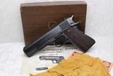 LNIB Blue Pre-70 Series Colt Government .45