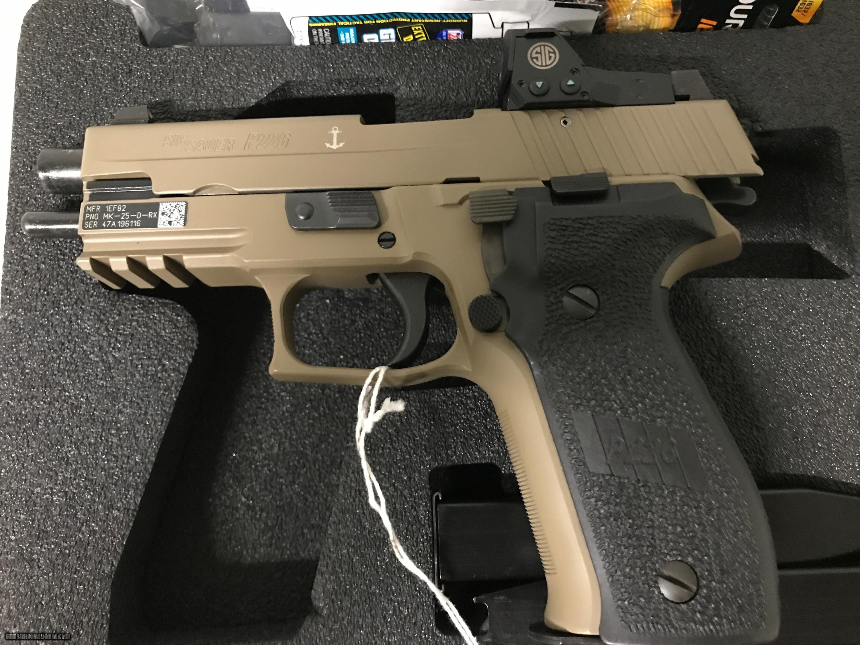 Sig Sauer P226 Mk25 Rx 9mm W Romeo Reflex Sight