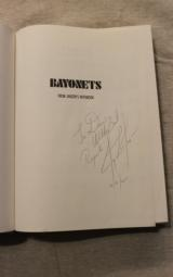 Bayonets From Janzen's Notebook, 2nd Printing Hardbound SIGNED By the Author (RARE) - 8 of 10
