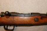Arisaka Type 99 Short Rifle Toyo Kogyo Series 34. 7.7mm Japanese. Shortened stock, Mum intact. - 1 of 15