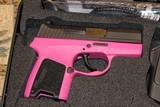 Sig Sauer P290RS, 380 ACP, DAO, 2-Tone Pink NIB