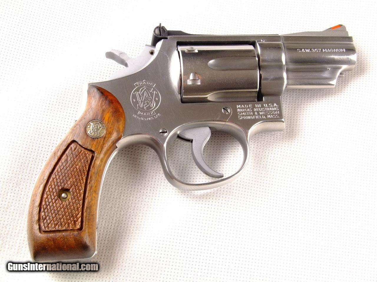 dating smith wesson revolver
