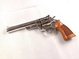 """Mint Smith and Wesson Model 29-2 6 1/2"""" (Dirty Harry) .44 Magnum in Mirror Nickel Finish!"""