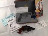 Smith and Wesson Model 36-9 LadySmith .38spl +P Revolver with Factory Jewel Case, Etc.