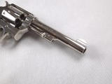 SMITH AND WESSON NICKEL PLATED 32 REGULATION POLICE REVOLVER! - 5 of 15
