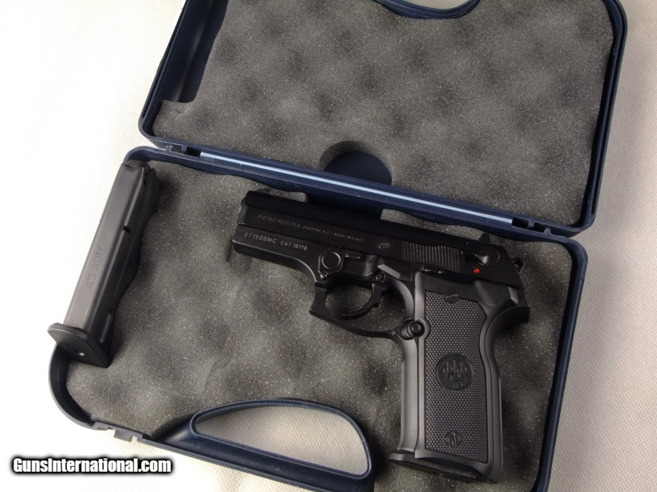 Rare Beretta 8045F Cougar 45 ACP Pistol with Factory Case