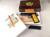 Colt Service Ace .22 Pistol with Factory Box and Papers!