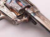 Beautiful Patton Hand Engraved Uberti .45LC Single Action Revolver Finished in Sterling Silver and Pearl Grips! - 13 of 14