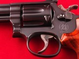 """Beautiful Smith and Wesson Model 17-6 Full Lug .22LR 6"""" Revolver with Factory Box - 5 of 14"""