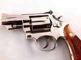 "Beautiful Smith and Wesson Model 19-5 .357 Magnum 2 1/2"" Mirrored Nickel Revolver - 8 of 13"