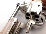 "Beautiful Smith and Wesson Model 19-5 .357 Magnum 2 1/2"" Mirrored Nickel Revolver - 11 of 13"